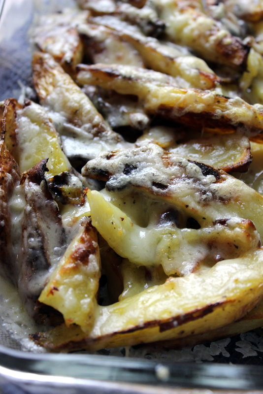Easy Oven Baked Poutine