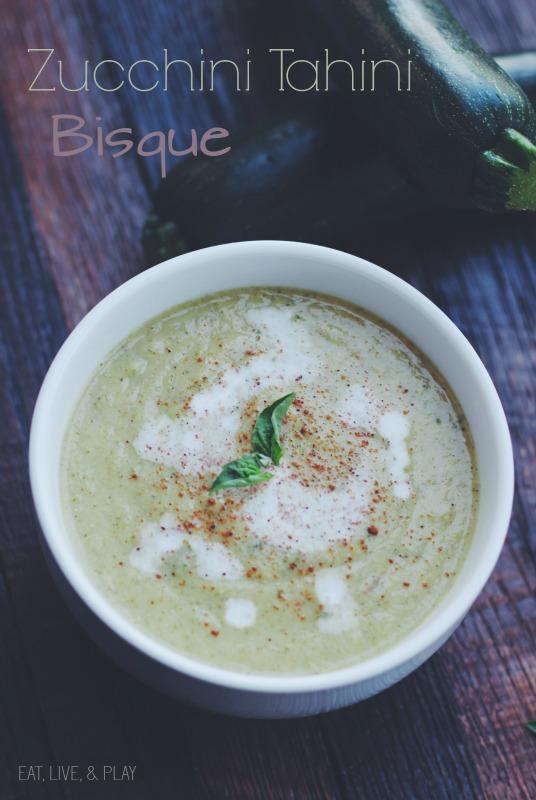 Creamy Zucchini Tahini Bisque