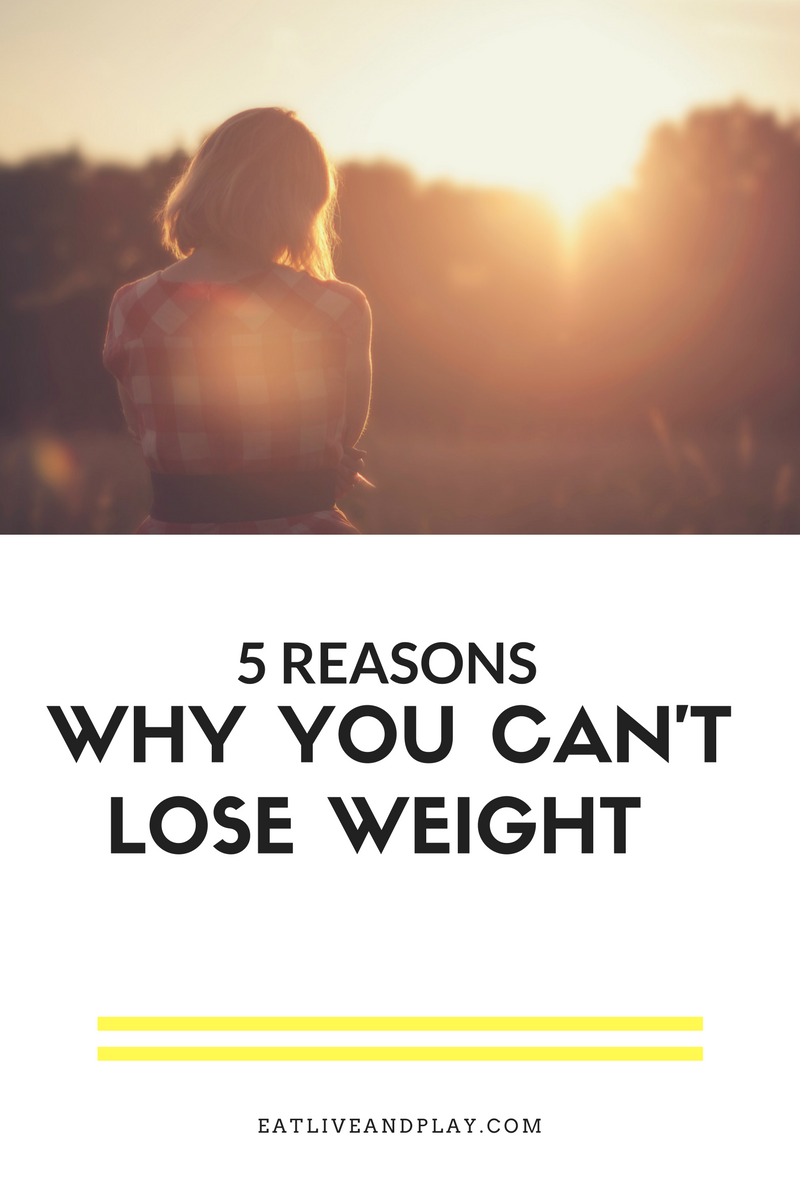 Have you ever wondered why the scale doesn't seem to budge when you're trying to lose weight? Well I got 5 reasons for ya