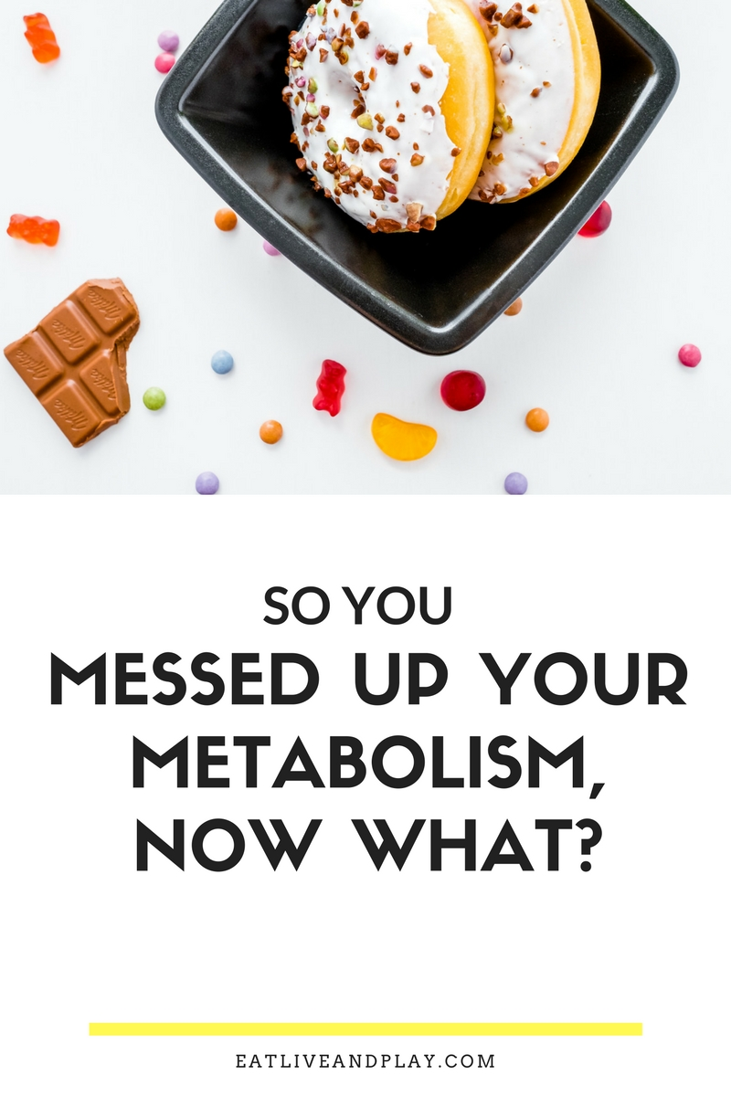If you messed up your metabolism gorging on holiday goodies then chances are that your metabolism took quite a beating. Here are some simple things that you can do to ignite the flames again to help you to lose weight!