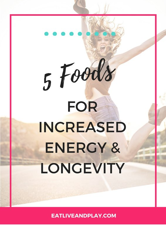 Discover the top 5 foods for more energy!
