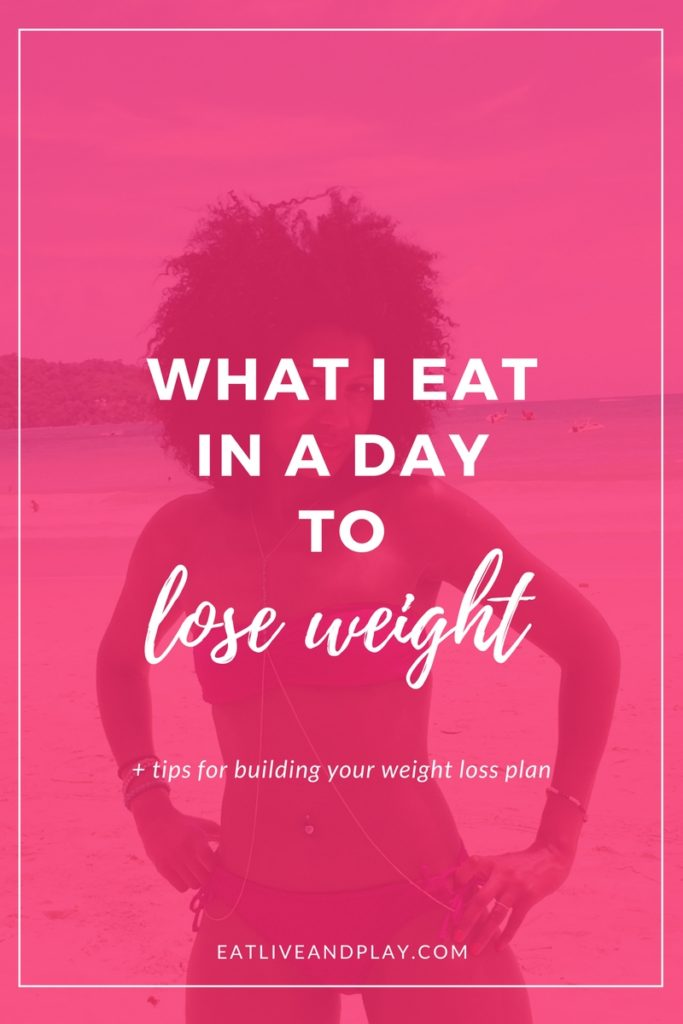You've asked so I've answered! I'm pulling back the curtain on what I eat in a day to lose weight.