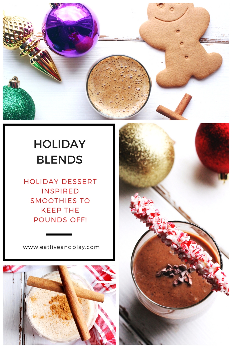 Trick your tastebuds with these 5 delicious holiday dessert inspired smoothies!
