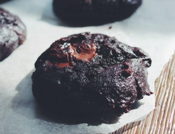 Double Chocolate Avocado Cookies